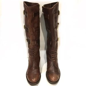 Vince Camuto Fenton Knee Riding Leather Boots 7